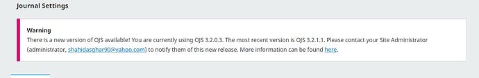 Ojs 3.2.1.1