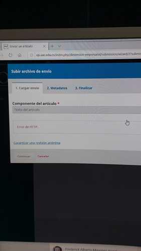error de HTTP