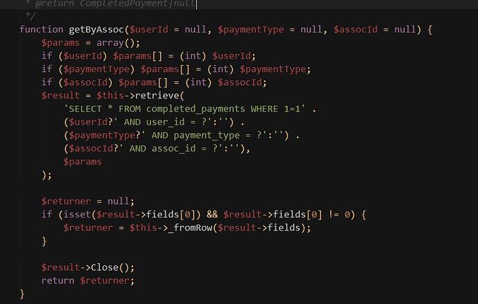 ojs code
