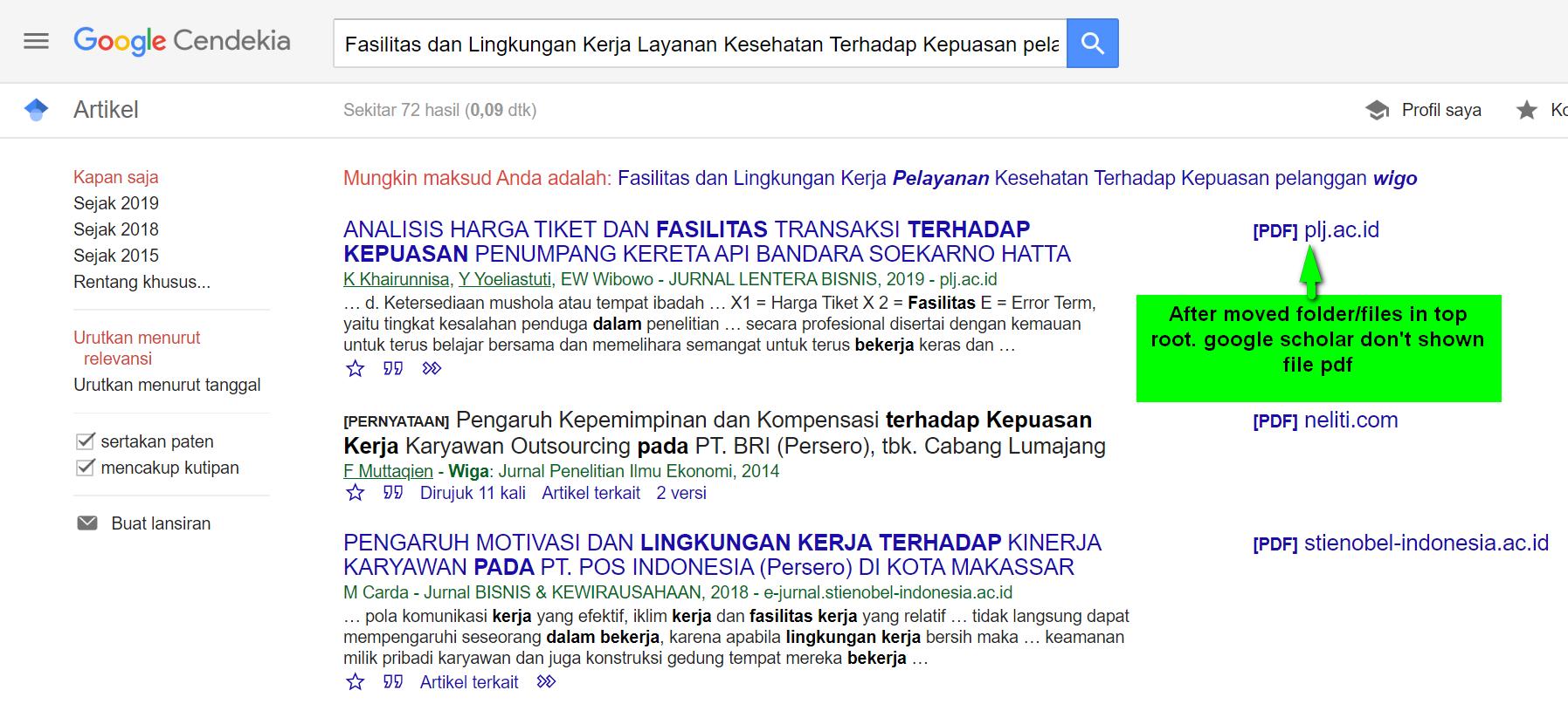 Trouble Google Scholar Indexed After Upgrade V 3 1 0 0 To V 3 1 2 2 Software Support Pkp Community Forum