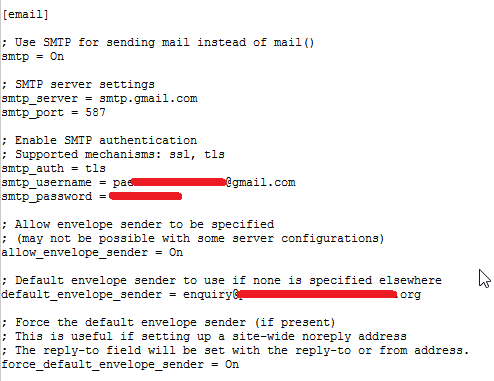 solved] OJS 3 1 1-2 SMTP failed after upgrade - Questions