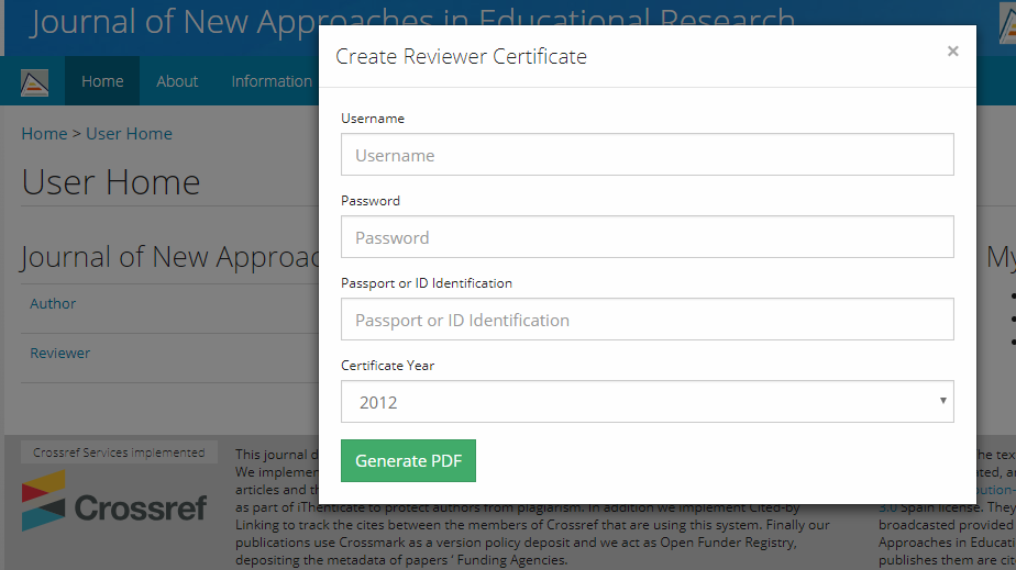 Reviewers Certificate - Feature Requests - PKP Community Forum